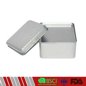 High-grade fashionable small metal jewelry box packaging