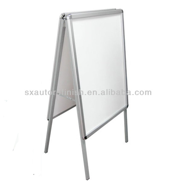Metal A frame sign, Metal outdoor advertising signboard design