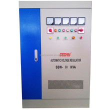 OEM 3 phase AC automatic compensated voltage regulator/stabilizer SBW 500KVA