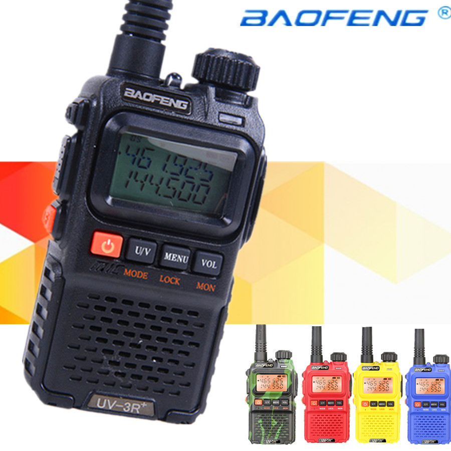 Baofeng UV-3R+plus Walkie Talkie For police walkie talkie baofeng uv-3r plus