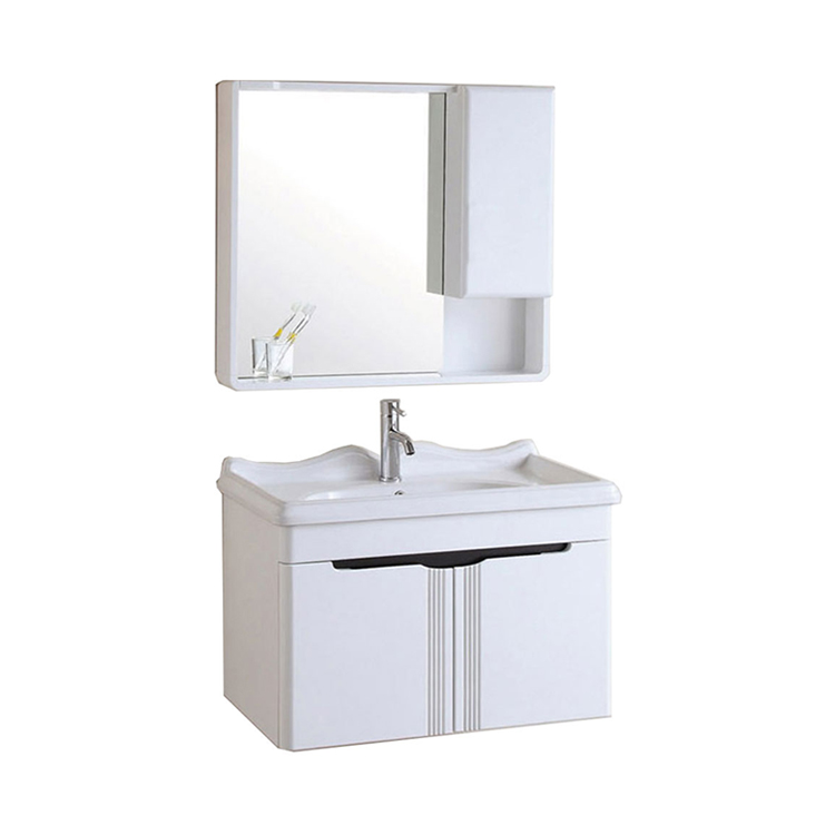 White Modern Bathroom Vanity Units For Small Bathrooms Made In China Finish Wash Basins With Cabinet Sink Base Cabinets
