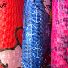 Most popular 600D stretch upholstery oil resistant elastic printing oxford sunbrella fabric