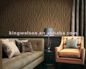 Mode Moderne Decoratif Mur Papier Bambou Papier Peint Design 3d