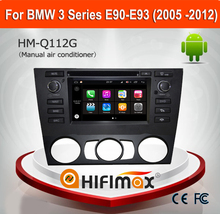 Hifimax Andriod 7.1 DVD Player For BMW E90 E91 E92 E93 3Series (2005 -2012) Steering Wheel With manual air conditioner
