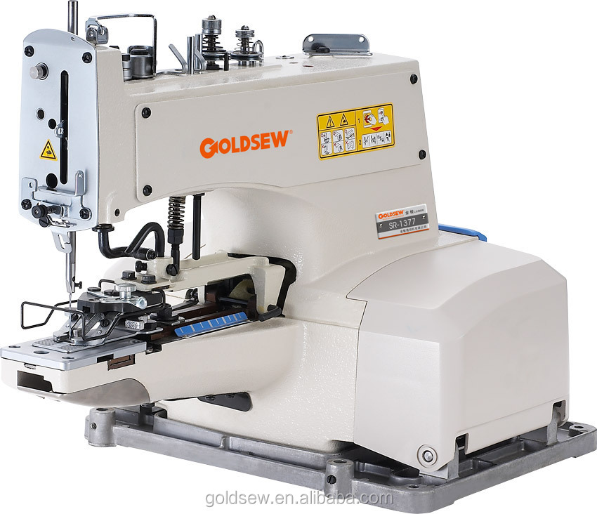 Button Attaching Machine 1377 Industrial Sewing Machine Automatic ...