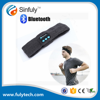 Bluetooth Music Headband,Wireless Bluetooth Stereo Headphones Headset Sport Headband Running Yoga Dancing Headband