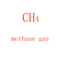 Factory Supply 99.999% Purity CH4 40L 150bar Methane Gas