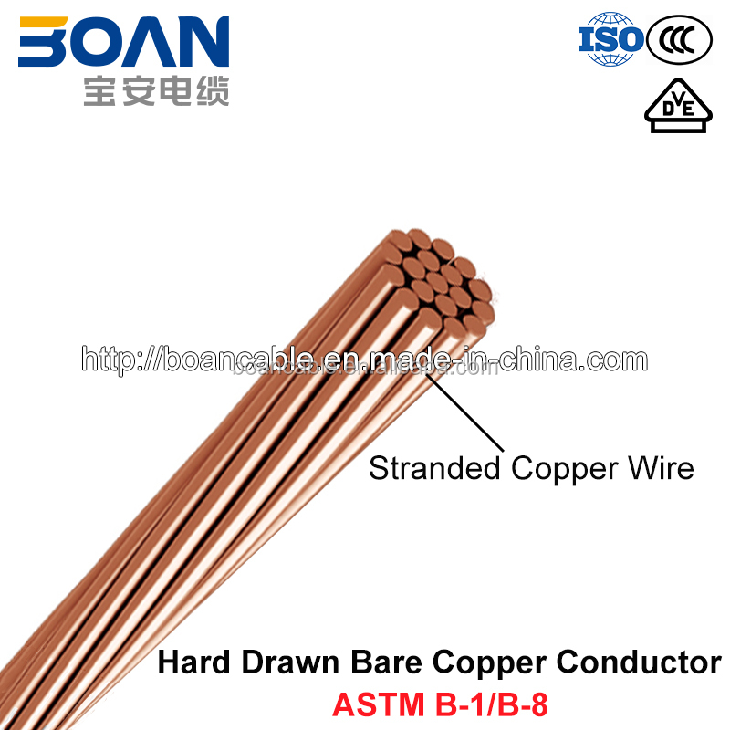 Free Samples,Astm B1/b8,Hdbc,Hard-drawn Bare Copper Conductor - Buy ...