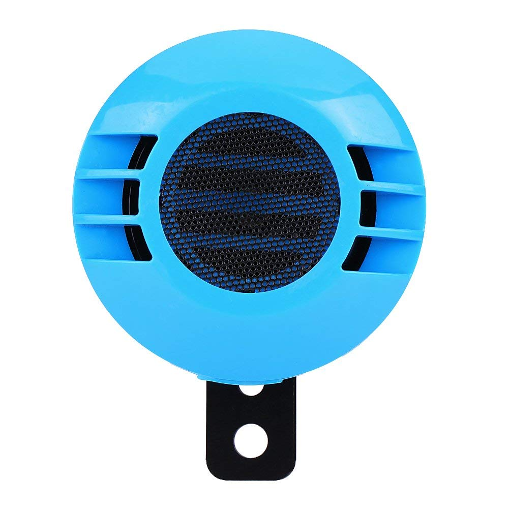 Keenso Universal 12V 110dB 510HZ Loud Snail Shaped Electric Air Horn for Car Vehicle Truck Motorcycle