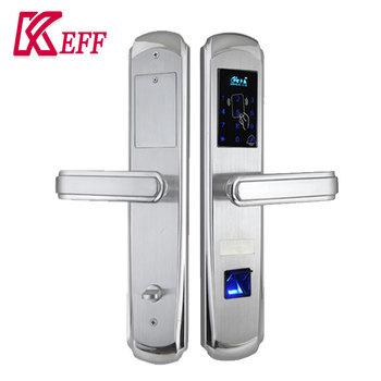 2017 New Wholesale Rfid Biometric Fingerprint Door Lock With Keyless Entry  System For Hotel