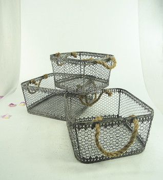 Charmant Wholesale Vintage Decorative Kitchen Wire Basket