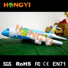Creative inflatable cartoon airplane toy PVC aircraft replica for children many pattern to choose