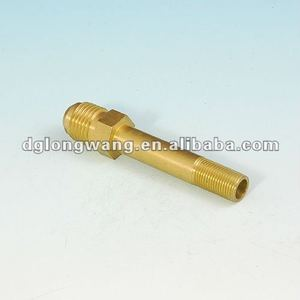 CNC lathe machining OEM RC car brass parts