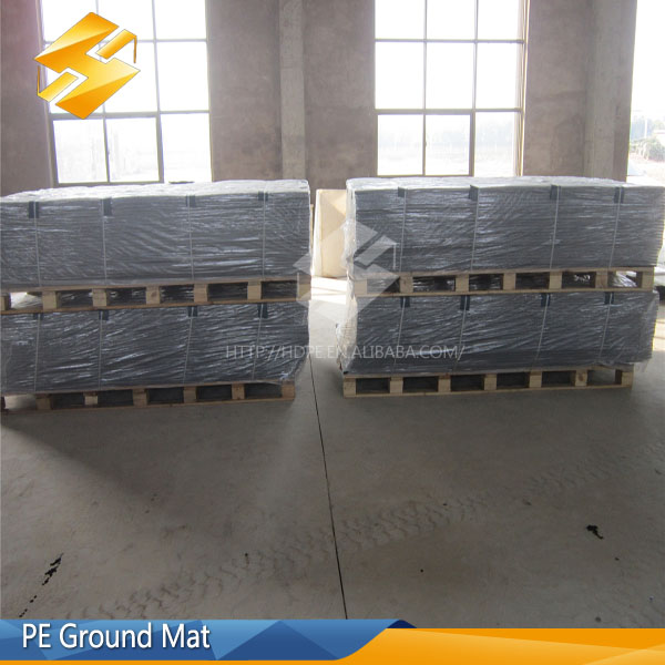plastic pe ground mat outdoor