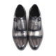 VIKEDUO Shop Online Double Monk-Strap Shoes Guide Guangzhou Shoemaker Best Handmade Men Cow Leather Dress Shoes