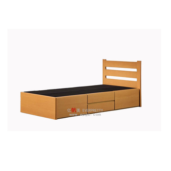 Wooden Single Bed With Drawers Wooden Bed Room Set With Best Black