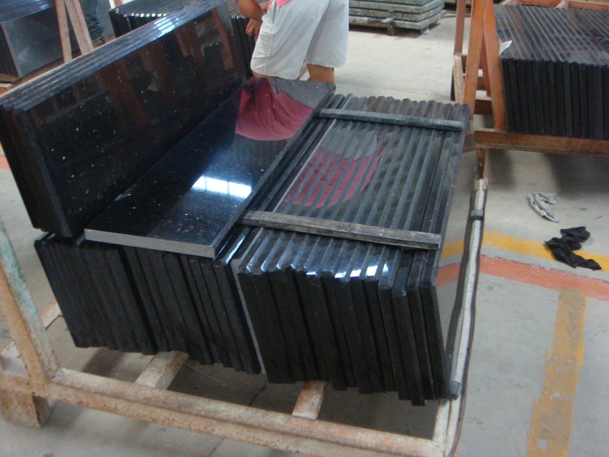 Hot Sale Black Galaxy Golden Star Granite Tile Buy Black Galaxy Granite Balck Granite Granite Tile Product On Alibaba Com