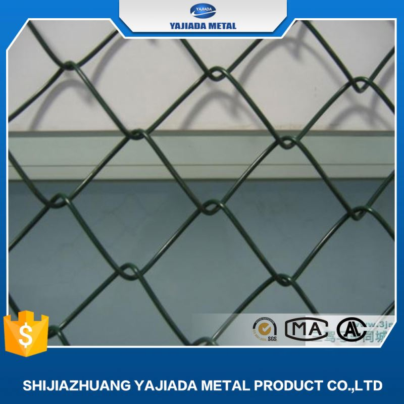 60mm garden temporary galvanized 5 foot chain link fence