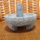 Manufacture Unique Granite stone mortars and pestles / herb and spice tools for kitchen utensils