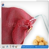 PP potato packing drawstring mesh produce net sack bag