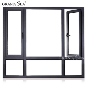 China manufacture casement french design impact windows prices in china