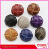 High quality customizable shank imitation leather nylon coats button