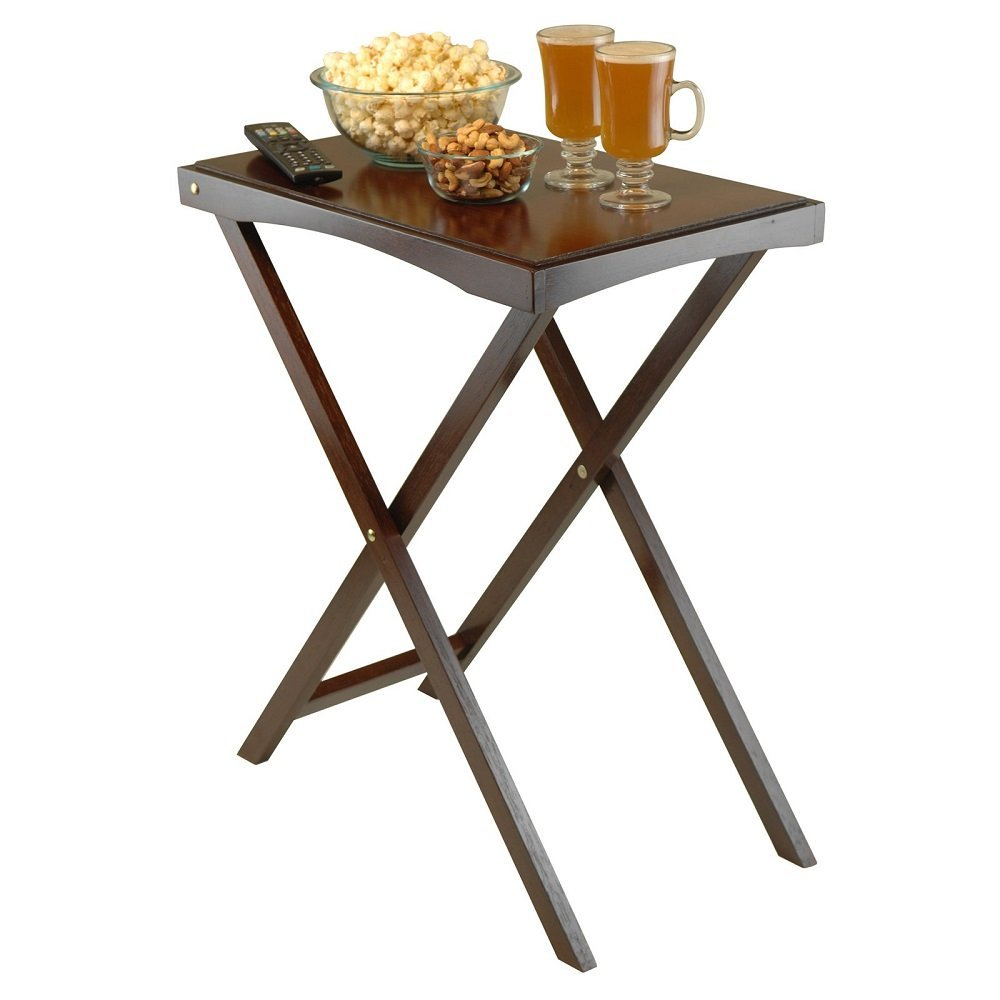 Get Quotations Folding Tray Table Portable Snack Tables For Living Room Sofa Home Furniture Tv Stand Accent