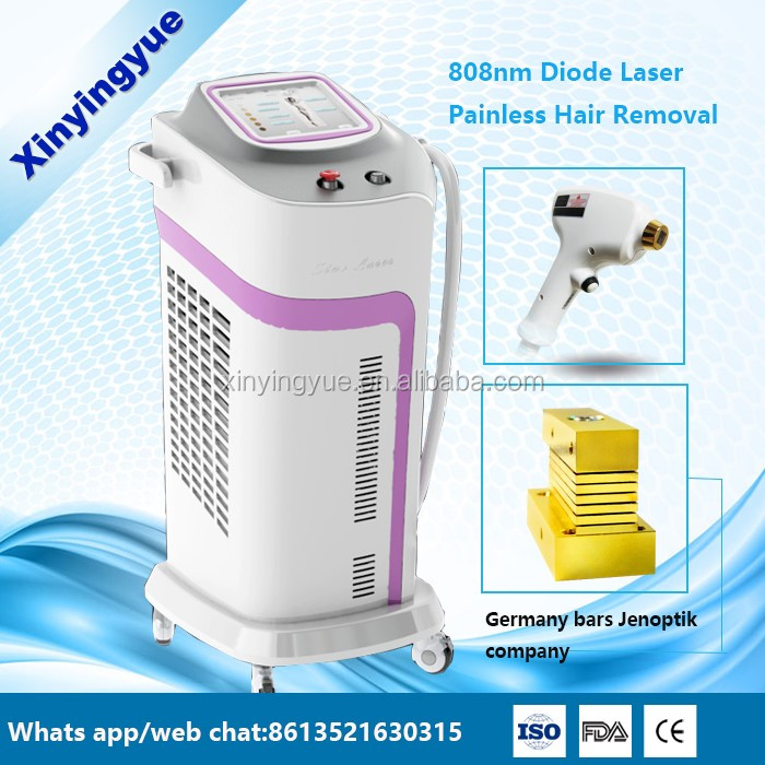 2016 Portable laser hair removal 808nm diode laser machine