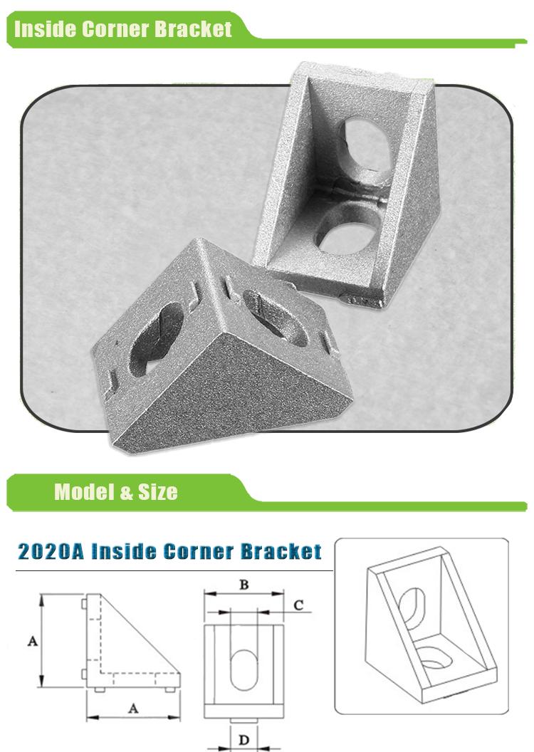 2020 T Slot 90 Grad Rahmen Ecke Winkel - Buy 90 Grad Eckwinkel,Frame ...