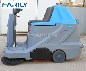 FE1000 commercial industrial cleaning electric manual floor sweeper machine for sale