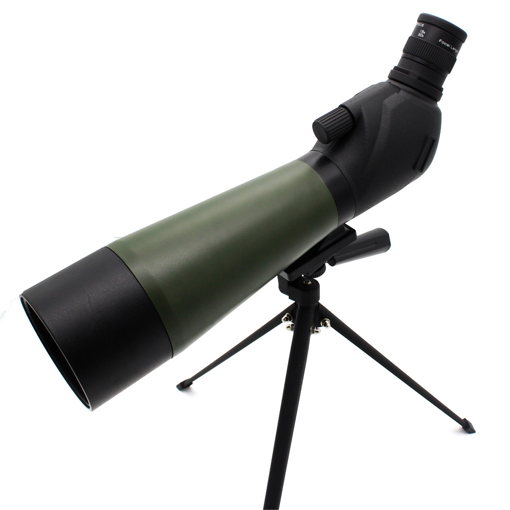 20-60x80 monocular spotting scope for wildlife observation scopes