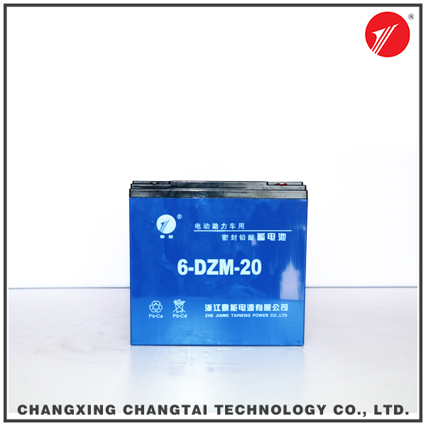 Maintenance free rechargeable sealed lead acid battery