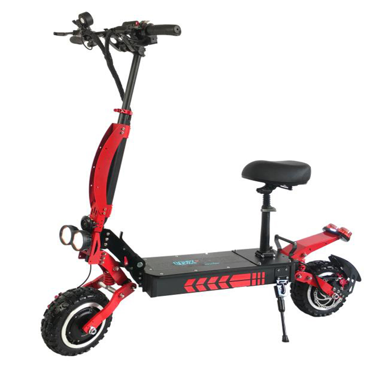 Factory Price Dual Motors 11inch 60v 3600W Electric Scooter Foldable Two Wheel Powerful Scooter with Seat, N/a
