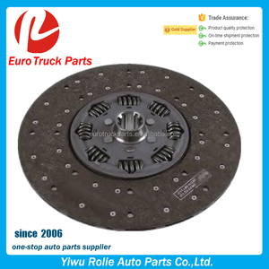 OEM 1878027231 1287898 Heavy Duty European Tractor Auto Clutch Disc DAF Truck Copper Clutch Plate