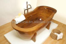 hot sale wooden barrel bath tub