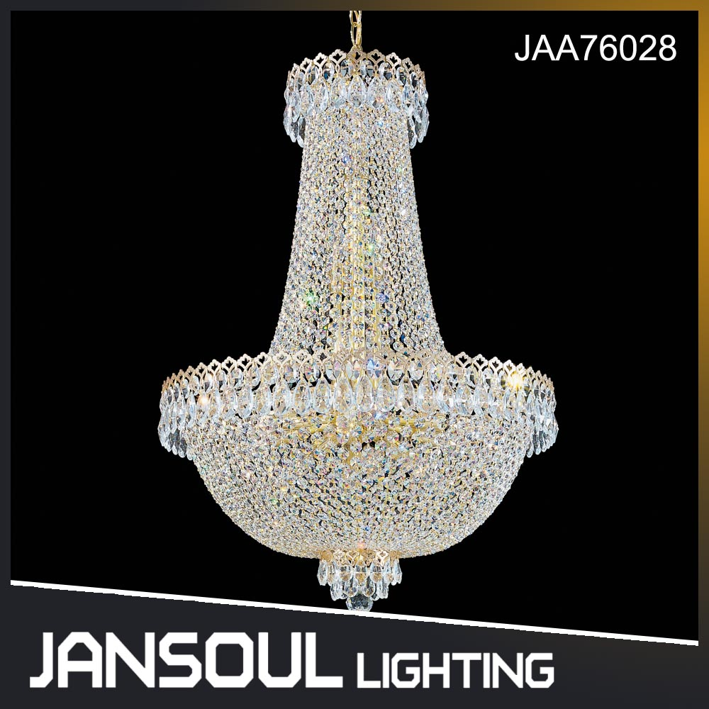 Luxury Large Empire Crystal Chandelier for Hotel Home Villa Decoration