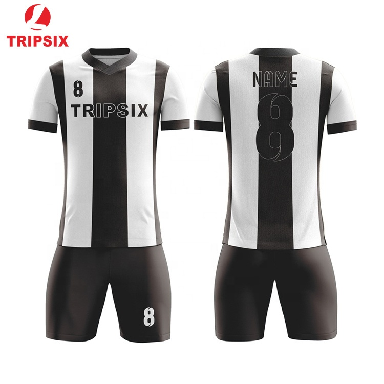 ce7030059 Black And White Top Thai Quality Alibaba Soccer Jersey - Buy Soccer Jersey  Top Thai Quality