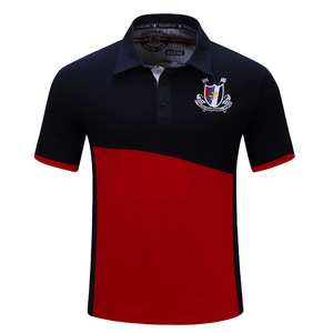 60% cotton 40% polyester polo shirts mens embroider polo tshirts