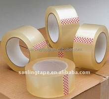 sanling super jelas perekat BOPP packing tape