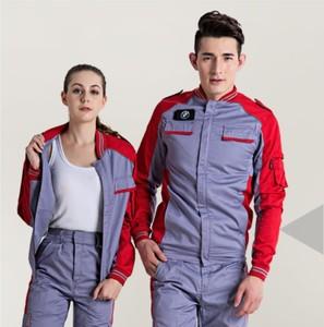 Factory Mechanical Working Uniform 2pcs Design