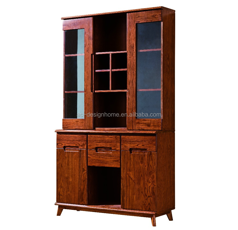 Solid Wood Cabinet, Wood Cabinet Furniture (C025-FHB03)