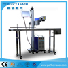 High Speed Flying Ear Tag Laser Marking Machine Fiber Laser
