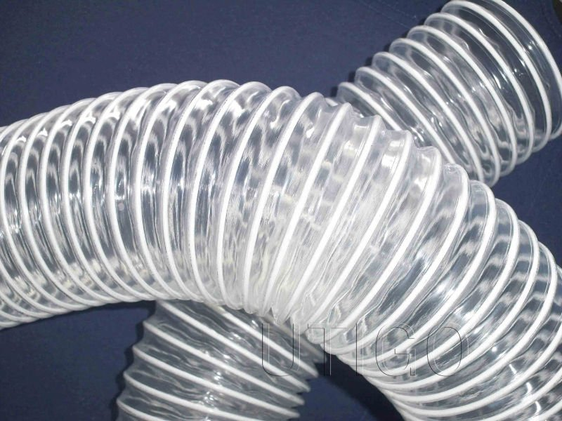 Pvc corrugado flexible transparente pipe aire conditionin for Tubo de pvc flexible