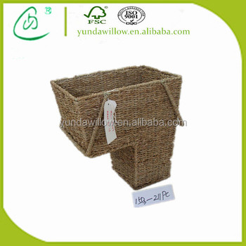 Cheap Wholesale Wicker Storage Stair Basket With Handle   Buy Basket With  Handle,Wholesale Wicker Basket,Cheap Wicker Basket Product On Alibaba.com