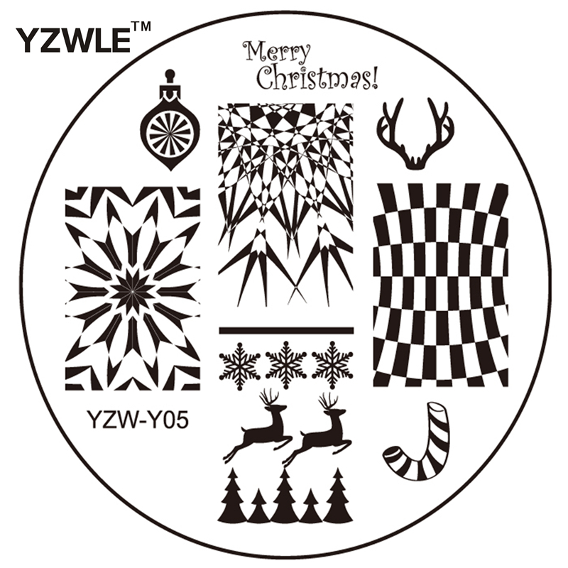 YZWLE Nail Art Stamp Plates Stamping Template stencil plate, stencil plate suppliers and manufacturers at on iron router loading template