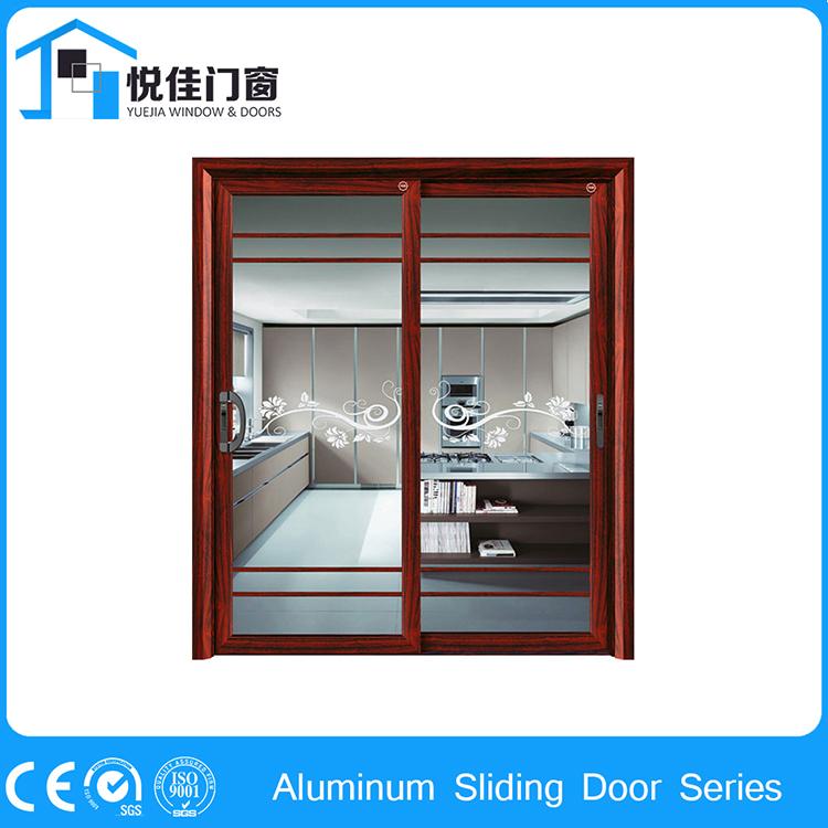 Factory price aluminum sliding doors kitchen bedroom doors buy aluminum sliding doors product - Kitchen sliding door price ...