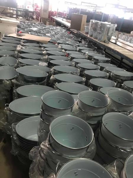 Amazon ขายร้อนซาตินสำเร็จรูปถังขยะสแตนเลสสตีลพร้อมตัวกรอง