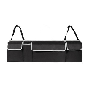 Adjustable Vehicle Special Purpose Car Organizer Back Seat Car Makeup Organizer