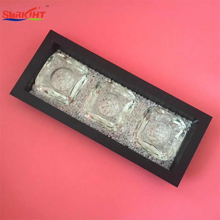 Plain Glass Antique Indoor 38mm Diameter Tealight Candle Holder