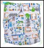 New Pattern Printed Fitted Reusable Cheap Baby Cloth Diapers China Whlosale